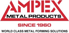 Ampex Metal Products Logo